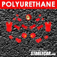 POLYURETHANE: Full suspension bush kit BMW E30