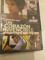 Dvd  UN CORAZON INVENCIBLE  (precintado nuevo )con angelina jolie ...