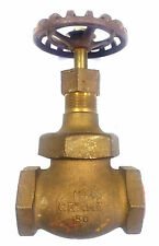 "Crane 14 1/2P Bronze 1-1/4"" Threaded Globe Valve"