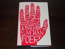 EXTREMELY LOUD AND INCREDIBLY CLOSE--SIGNED--JONATHON SAFRAN FOER 1ST HARDCOVER