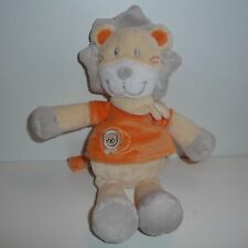 Doudou Lion Kiabi - Orange Jaune