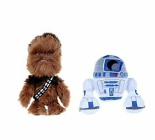 Star Wars Soft Plush Toys-Chewbacca le Wookiee & Android R2-D2 - NEUF