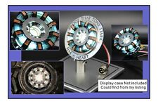 FULL METAL DELUX EDITION REMOTE CONTROL MK2 ARC REACTOR & DISPLAY CASE Xmas Gift