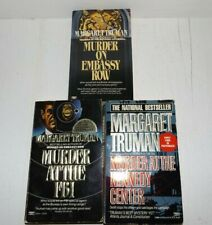 3 Mystery Paperback Books By Margaret Truman