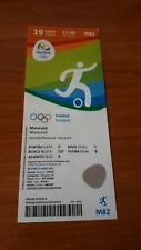 Sammler Ticket 2016 Olympia RIO , Finale Germany  - Sweden , Women Fussball
