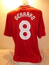 Liverpool 10 e 11 ADIDAS HOME ADULTO XLARGE GERRARD 8 stampa europea