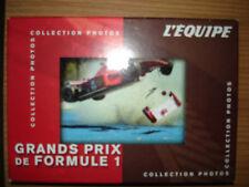 automobile cartes COLLECTION PHOTOS GRANDS PRIX de FORMULE 1 L'EQUIPE