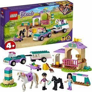 LEGO® Friends - Horse Training and Trailer Building Play Set 41441 NEW NIB