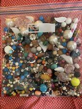 2lb 3.9 oz Jewelry Making Supplies: Glass, Wood, Plastic, Pearl Beads