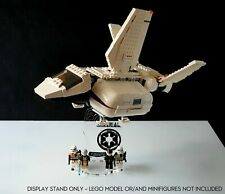 Display stand 3D-BK angled +slots for Lego 75221 Imperial Landing Craft (A1064)