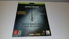 Prima Star Wars Jedi Knight: Jedi Academy Xbox Official Strategy Game Guide Book