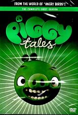 NEW DVD /  PIGGY TALES //  COMPLETE SEASON 1 // +2 EPISODES OF ANGRY BIRDS STELL