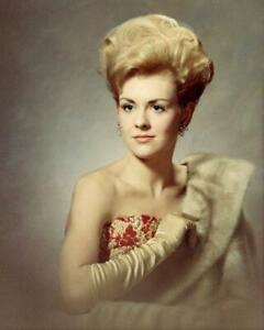 Vintage Photo ... Beautiful Young Woman 1960s Studio Photo ... Photo Print 8x10