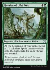 MTG x4 Honden of Life's Web Eternal Masters Unc Green NM/M Magic the Gathering