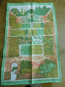 Tea Towel Threave by PAT ALBECK for The National Trust for Scotland Irish Linen