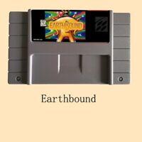 SNES Super Nintendo Cart Game - Earthbound US Version Battery Save