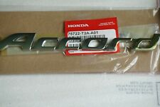 Honda Accord Word Nameplate Emblem Trunk Rear Badge Logo 75722-T2A-A01 Letter EX