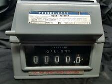 VEEDER-ROOT Printer Register 78900- 733 Meter Fuel Oil Bio Diesel Gas Warranty