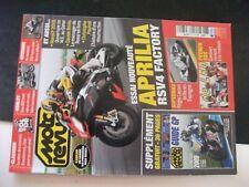 **ms Moto revue n°3851 Davide Brivio / Aprilia RSV4 / Hyosung