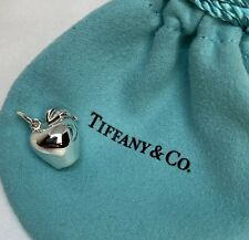 $200 Tiffany & Co. Sterling Silver 925 New York Big Apple Charm Pendant W Pouch