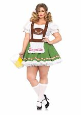 Leg Avenue OKTOBERFEST Beer Wench Gretchen Halloween Costume Plus Size 3X/4X