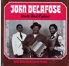 John Delafose 1983 SEALED Arhoolie 1088 LP Uncle Bud Zydeco