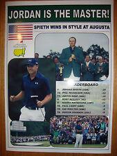 Jordan Spieth 2015 nos campeón del Masters-Souvenir de impresión