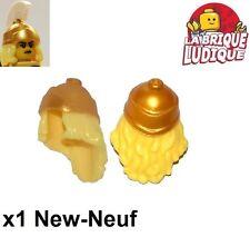 Lego - 1x Minifig cheveux hair casque helmet spartiate bb617pb01 NEUF