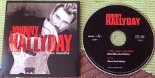JOHNNY HALLYDAY CD DEUX TITRES  ETAT NEUF . UN JOUR VIENDRA .
