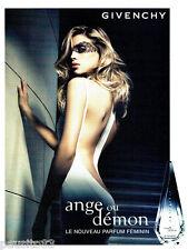 PUBLICITE ADVERTISING 046  2007  Givenchy  parfum femme Ange ou démon