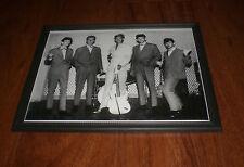 1960's RORY STORM & HURRICANES RINGO STARR FRAMED B&W PRINT