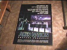 ALIEN NATION 1988 ORIG MOVIE POSTER SCI FI