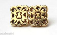 TOUS pendientes de oro 18Kt. colección KENIA (18K. yellow gold earrings)