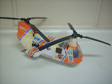 BIG Tonka CH-46 Coast Guard Search Rescue Helicopter Lights Sound -PLEASE READ