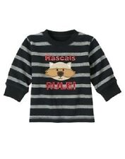 "Gymboree Infant Boy 3-6 months Preppysaurus ""Rascals Rule"" Raccoon Shirt New"