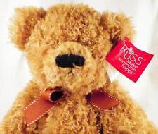 Russ Teddy Bear Brawson Light Brown Plush Soft Stuffed 14in. with Tag