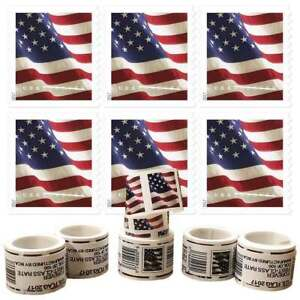 2017 US 1 Rolls of 100 American Flag 55¢ FOREVER - Unopened! USA FREE SHIPPING