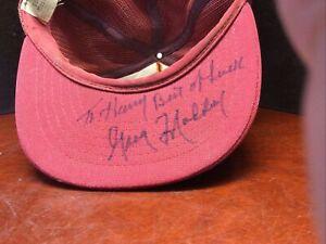 Vintage Hat Signed Greg Maddux PHILADELPHIA PHILLIES