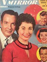 Vintage TV Radio Mirror Movie Magazine January 1956 Bob Crosby & Daughter