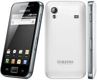 "Original Unlocked Samsung Galaxy Ace S5830 GSM 5MP wifi 3.5"" Smartphone White"