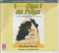 The Tales Of Olga Da Polga Michael Bond 2CD Audio Book Unabridged Guinea Pig