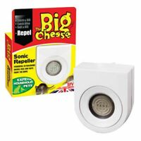 NEW SONIC MOUSE RAT MICE REPELLER DETERRENT REPELLENT FOR HOME CATCH ALIVE