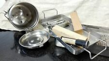 German WW2 STERILISATORS, PERVITIN tins and other tools
