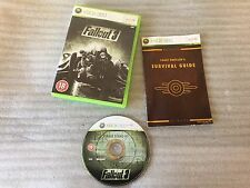Fallout 3 For Microsoft Xbox 360 Game PAL Complete
