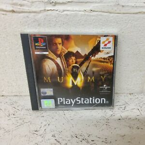 The Mummy - PlayStation 1 PS1 Game PAL - Konami Universal VGC (L7)