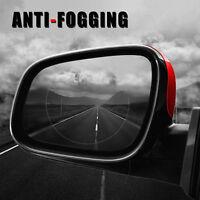 2pcs Car Anti Fog Water Coating Film Rainproof Rear View Mirror Protective Film