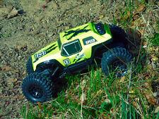 BSD Racing Rock Crawler RC Truck 1/12 Scale 4WD 2.4GHz Radio Control Car  Yellow