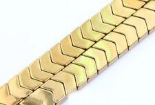 50Pcs Natural Magnetic Hematite Gemstone Faceted Tube Beads 5x8mm Metallic