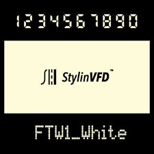 VFD Display Color Filter<White>For vintage Calculator CASIO,OMRON,BRAUN & more~