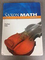 Saxon Math Course 3 2007 Student Edition Textbook Homeschool Grade 7 8